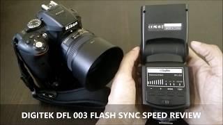 digitek dfl 003 flash sync speed