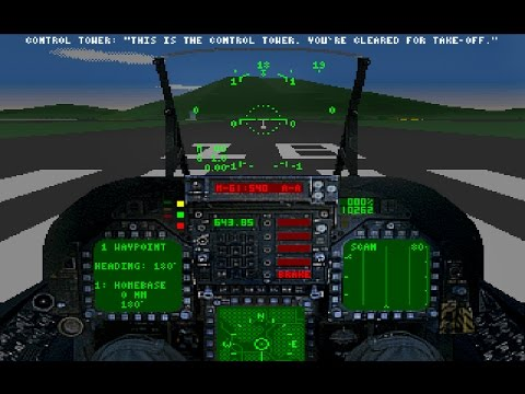 Black Knight: Marine Strike Fighter (PC/DOS) 1995, SE Software