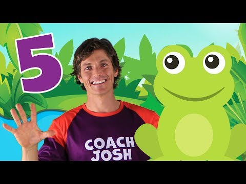 five-little-speckled-frogs-|-action-song-for-children-|-coach-josh