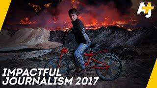Why 2017 Wasn't A Bad Year For Journalism In The U.S.   AJ+