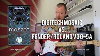 DigiTech MOSAIC vs. Fender/Roland G-5A