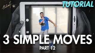 3 Simple Dance Moves for Beginners - Part 12 (Hip Hop Dance Moves Tutorial) | Mihran Kirakosian