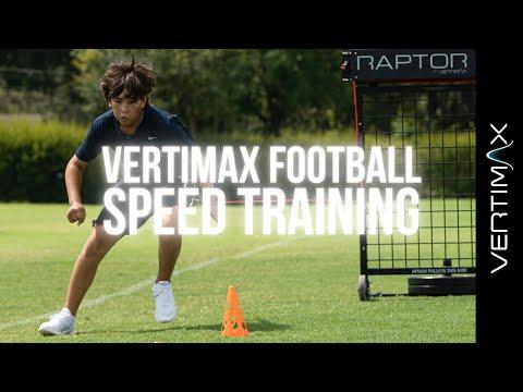 Football Drills: Raptor DB Back Pedal & Break