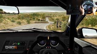Mitsubishi Lancer Evo X Dirt 4 (Logitech g29 + shifter) gameplay