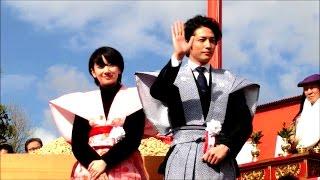 2016年2月3日、大阪府寝屋川市の成田山不動尊にて恒例の節分祭が行われ...