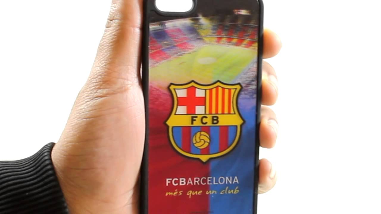 watch 3bbf5 160e8 FC Barcelona Official 3D Hard Back Cases for iPhone 5/5S/4/4S