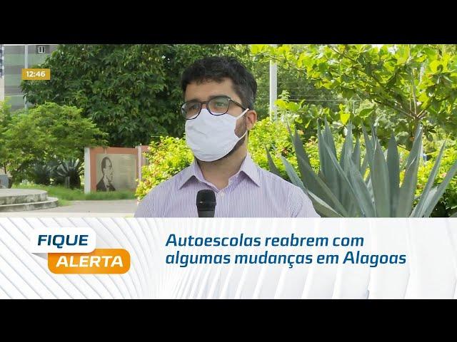 Autoescolas reabrem com algumas mudanças em Alagoas