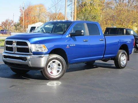 2017 Dodge Ram 2500 Slt 4x4 Blue Streak Pearlcoat 6 7l Mins Sel Long Bed Sold