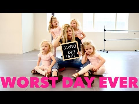DISASTER First Day Back To DANCE Class