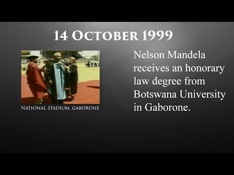 The Mandela Diaries: 14 October 1999