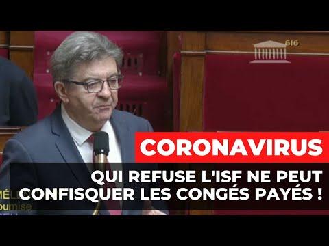 CORONAVIRUS : Qui refuse l'ISF ne peut confisquer les congés payés !
