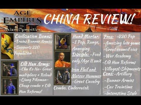 China Nation Review! AoE III