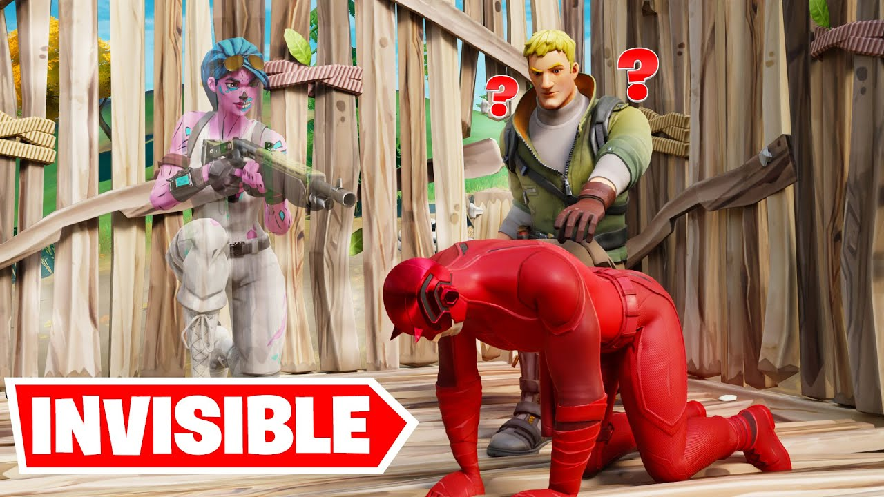 this glitch makes you invisible in fortnite
