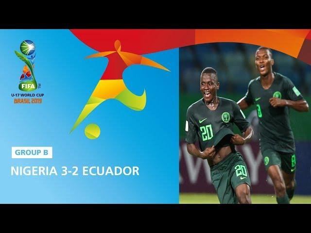 Nigeria v Ecuador Highlights - FIFA U17 World Cup 2019 ™