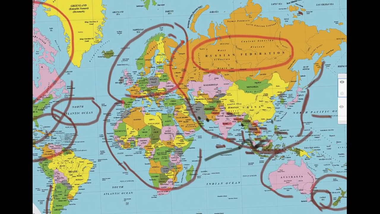 learn to master world map for upsc in less than 30 mins
