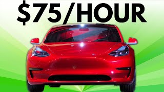 How I Make $75/Hour Driving a Tesla Model 3