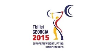 Тяжелая атлетика. Чемпионат Европы 2015 г. Мужчины до 62 кг.