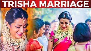 Actress Trisha Marriage Details | Trisha Opens up