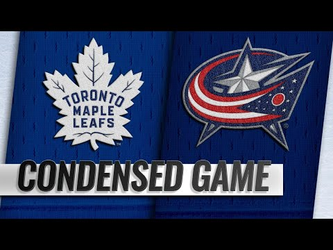 12/28/18 Condensed Game: Maple Leafs @ Blue Jackets
