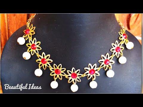 Pearl Designer Necklace & Choker/Beautiful Ideas/Diy/Latest Jewellery