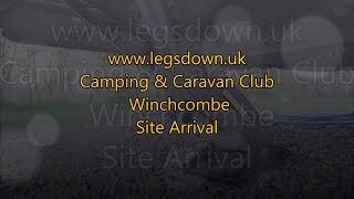 Cotswolds - Winchcombe C&CC Site Arrival