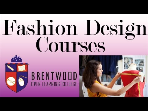 Accredited Fashion Design Courses. Flexible study- Start now
