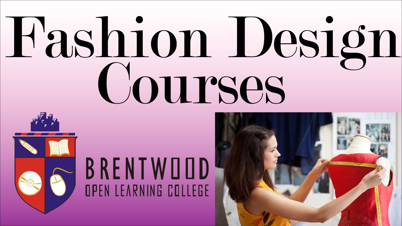 Accredited Fashion Design Courses Flexible Study Start Now Youtube