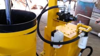 silo prensa hidraulica