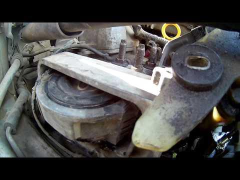 как восстановить подушку двигателя How To Recover A Pillow Of The Engine