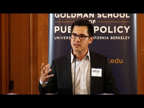 Van Nguyen, Featured Student Speaker at the Goldman School of Public Policy Board of Advisors Dinner