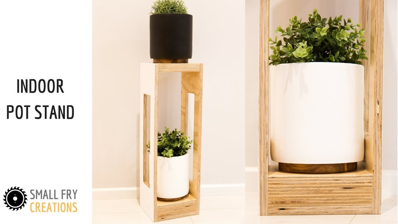 Diy Indoor Plant Stand Small Fry Creations