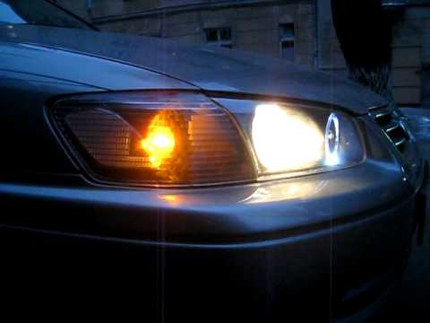 Hil Toyota Camry 2000 Black Halo Head Lights Youtube
