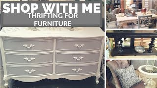 Shop With Me: How I Thrift For My Home ! Furniture Shopping :thrift Store Furniture Shopping