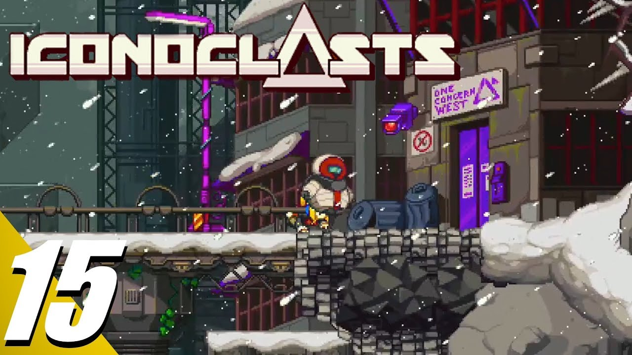 iconoclasts walkthrough part 15 one concern west no commentary