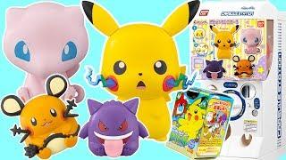 精靈寶可夢扭蛋轉蛋u0026奇趣蛋furuta  Pokemon gashaponu0026surprise eggs