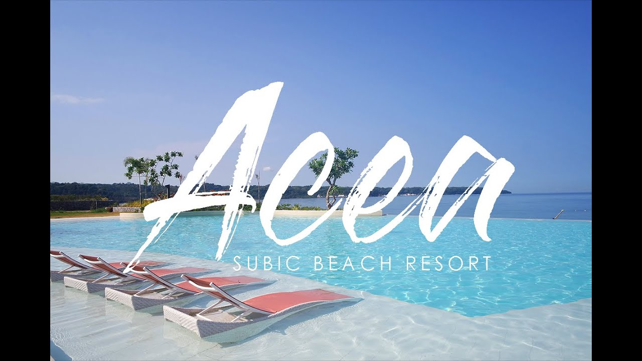 Acea Resort Subic 2017 Where Ava Travels Youtube