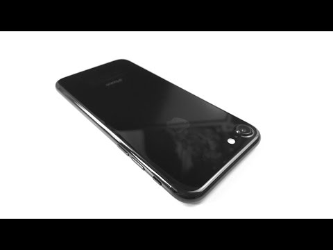 IPhone 7 128GB Jet Black Unboxing