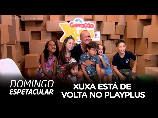 Xuxa Meneghel retorna ao universo infantil no PlayPlus