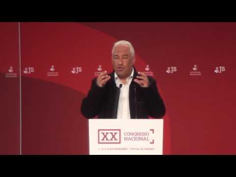 XX Congresso JS | Antonio Costa