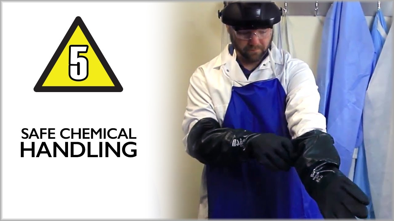 Safe Chemical Handling Lab Safety Video Part 5 Youtube