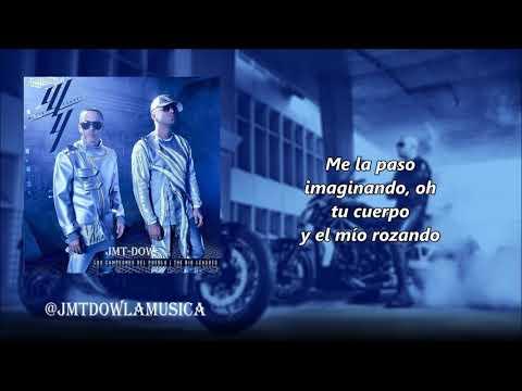 Wisin & Yandel - Me Dañas La Mente (Vídeo Letras) | Los Campeones Del Pueblo | Reggaeton 2018