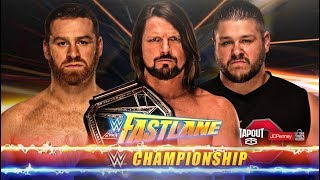 WWE FASTLANE 2018 ► MATCH CARD PREDICTIONS