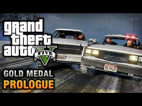 GTA 5 - Prologue [100% Gold Medal Walkthrough]