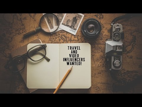 Travel and Video Production influencers wanted