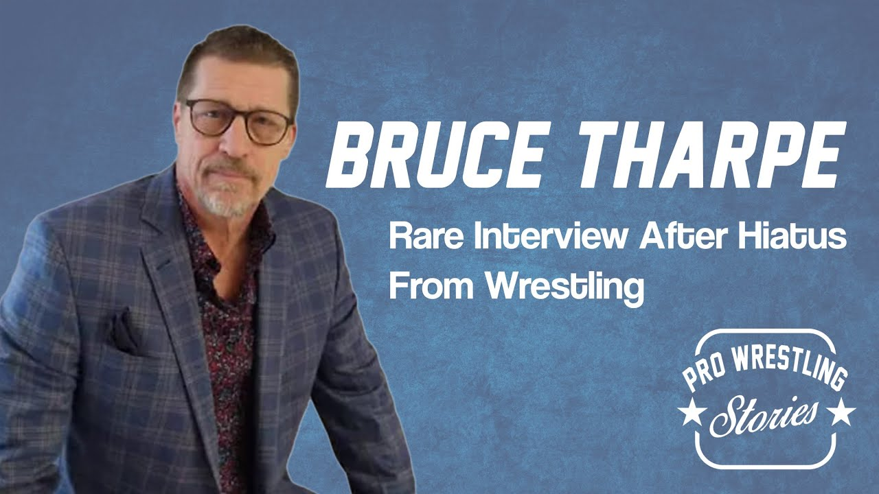 Bruce Tharpe -  Rare Interview With Former NWA President After Hiatus From Wrestling
