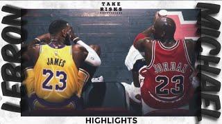 LeBron James VS Michael Jordan Highlights