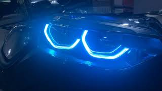 icedriver BMW 1 series RGB multicolor DRL LED boards