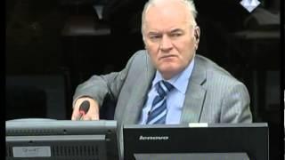 Karadžić - Svedočenje Ratka Mladića (Deo 2/2) - 28. januar 2014.