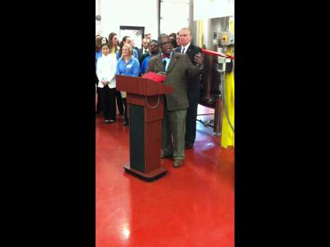 Kansas City Mayor at the opening of upgraded SCD Probiotics production facility