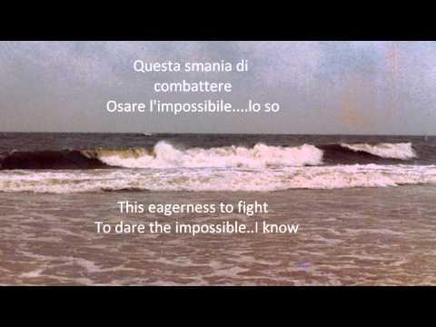 A Mio Padre-My Father  - Andrea Bocelli (Italian-English Lyrics)